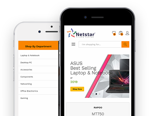 netstar private limited website mobile view