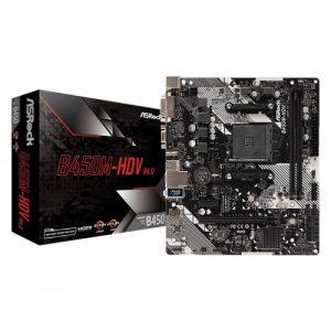ASRock B450M-HDV AMD Motherboard