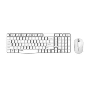 Rapoo X1800S Wireless Keyboard and Mouse Combo - White