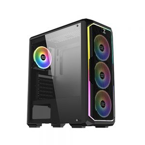 XIGMATEK LECO PLUS TEMPERED GLASS ATX CASE