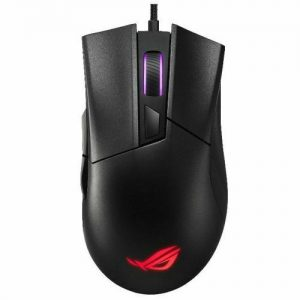 ASUS ROG Gladius II USB Ergonomic RGB Gaming Mouse Black