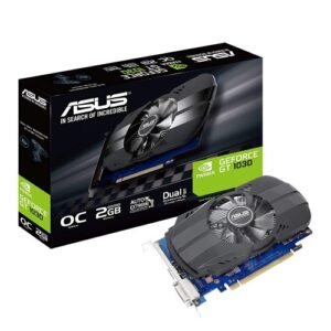ASUS Phoenix GeForce GT 1030 OC edition 2GB GDDR5 Graphics Card