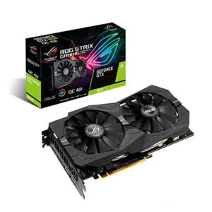 Asus ROG Strix GeForce GTX 1650 OC Edition 4GB GDDR5 Graphics Card (ROG-STRIX-GTX1650-O4G-GAMING)