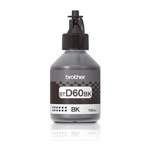 Brother BTD60BK BLACK Printer Ink Bottle for DCP-T310, DCP-500W, DCP-710W, MFC-T910DW