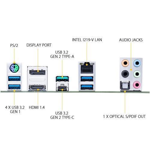 Asus TUF GAMING Z490 PLUS Intel 10th Gen Motherboard