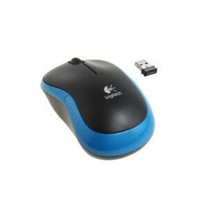 Logitech M185 Wireless Mouse - BLUE