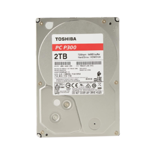 TOSHIBA P300 3.5-Inch SATA 7200 RPM Desktop PC Internal Hard Disk Drive