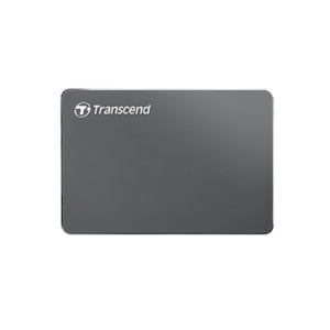 TRANSCEND StoreJet 25C3N 1TB / 2TB Extra Silm Portable Hard Drive (HDD)