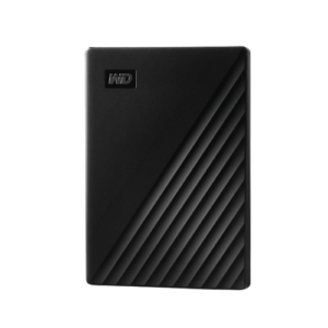 WD My Passport 1TB / 2TB Portable External Hard Drive - Black