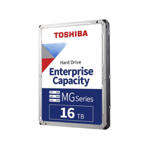 "TOSHIBA MG08ACA16TE 16TB 7200RPM 512e 3.5"" SATA Enterprise Desktop Hard Drive"