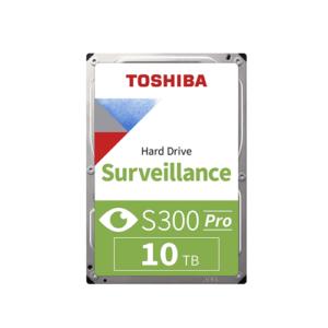 TOSHIBA S300 10TB 7200 RPM Surveillance SATA Hard Disk Drive