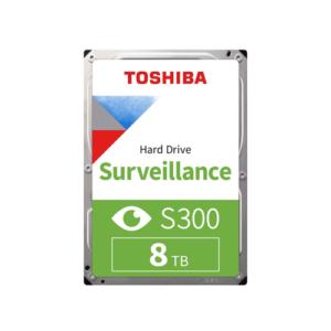 TOSHIBA S300 8TB 7200 RPM Surveillance SATA Hard Disk Drive