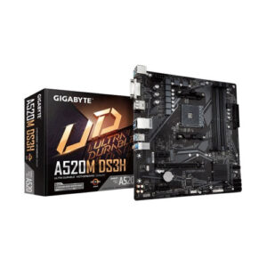 Gigabyte A520M DS3H Ultra Durable Micro-ATX AMD AM4 Motherboard