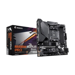 Gigabyte Aorus B550M Pro AMD 3rd Gen Micro ATX Motherboard